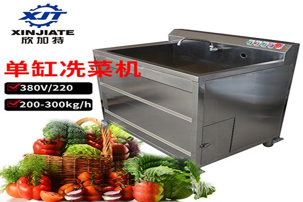 单缸洗菜机